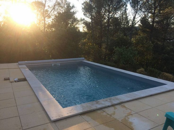 55 best images about piscine irrijardin swimming pool on for Piscine avec liner beige