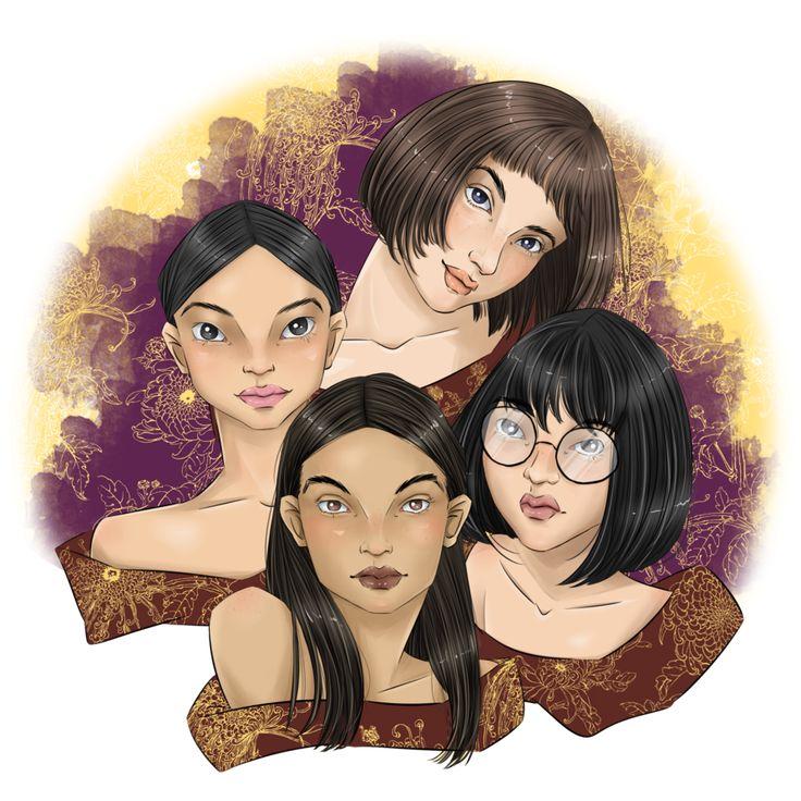 Girls Moon by NindyPolin.deviantart.com on @DeviantArt