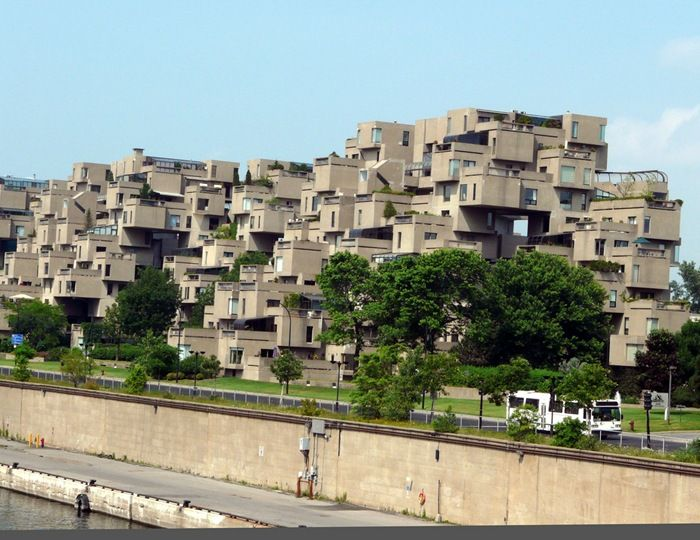 Habitat 67 (Montreal, Canada)built in 1967 for Expo 67 ( universal exposition).