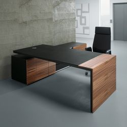 Design and functionality offer the optimal frame for a trusting and serious appearance. The timeless and very modern table construction, which functions..