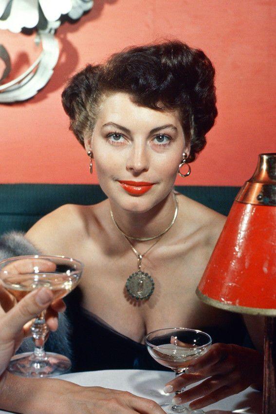 Ava Gardner Glamour 1950'S 24x36 Poster(60x91cm)   eBay