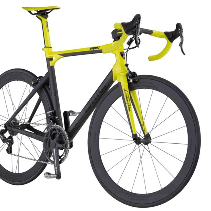 Lamborghini 50th Anniversary Edition impec collaboration with Swiss bicycle maker BMC
