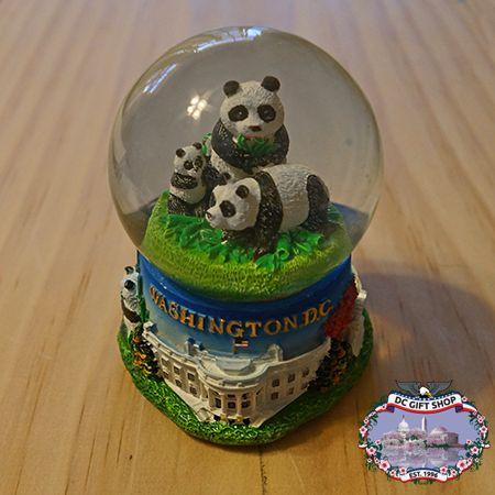 National Zoo Panda Snow Globe