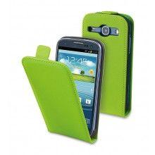 Forro Samsung Galaxy Core Muvit Slim con Protector Pantalla Verde  $ 40.165,57
