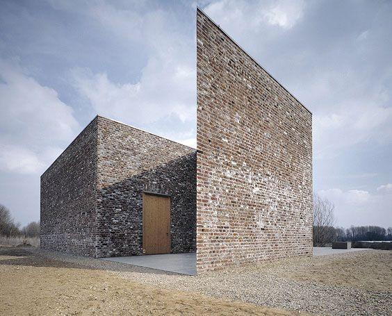 Erwin Heerich / hohe galerie + schnecke pavilion, Insel Hombroich Foundation, Neuss