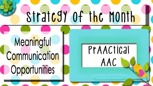 Creating meaningful communication opportunities.