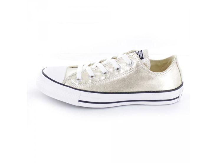 Converse All Star CTAS Ox - Damen Sneaker in gold-metallic
