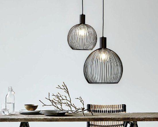 Nordlux Aver 30 - Hanglamp - Zwart