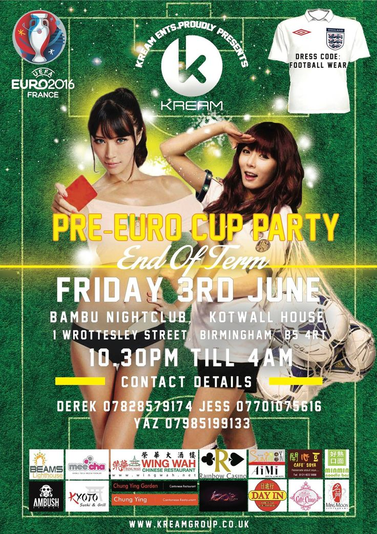 KREAM Entertainment proudlypresents the JINGLE JAMChristmas Party 2016 WHEN - Friday 9thDecember 2016 WHERE - GeishaNightclub, The Cube, Birmingham, B1 1RN (next to the Mailbox). ADMISSIONS £10 - Advance £15 - VIP(includes queue jump and a dedicated VIP area with VIP bar) £20 VIP Booth (includes queue jump, dedicated VIP area and booth with private …