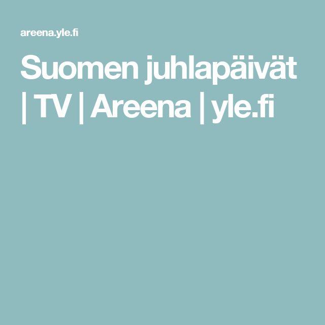Suomen juhlapäivät | TV | Areena | yle.fi