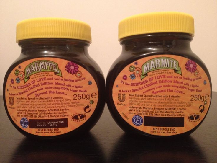 Marmite Summer of Hate + Summer of Love Unilever Preproduction Prototype - RARE in Collectables, Advertising, Food | eBay