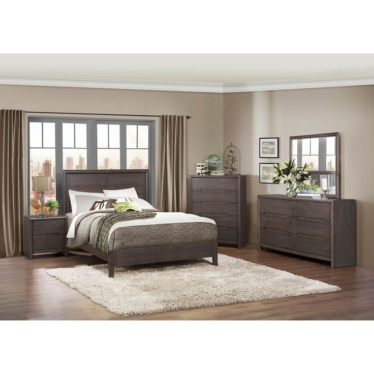 Nice Modern Bedroom Furniture Set Miami Features Cool Cowhide Rug And .. Idea