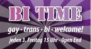 Jeden 3. Freitag heißt es bei EGO: gay • trans • bi welcome! Ab 15:00 Uhr startet die BI TIME - Ende offen! #sexparty #erotikparty #swinger #bisexuell