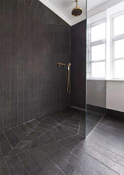 Open concept rain shower rain shower bathroom tiles for Bathroom tiles concept design