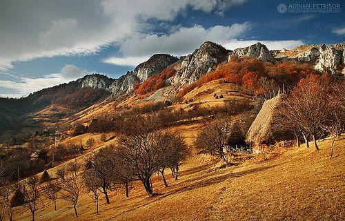 beautiful rustic landscape