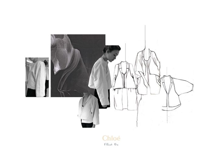 Fashion Sketchbook - fashion illustrations for Chloe project; fashion portfolio // Hayley Mills