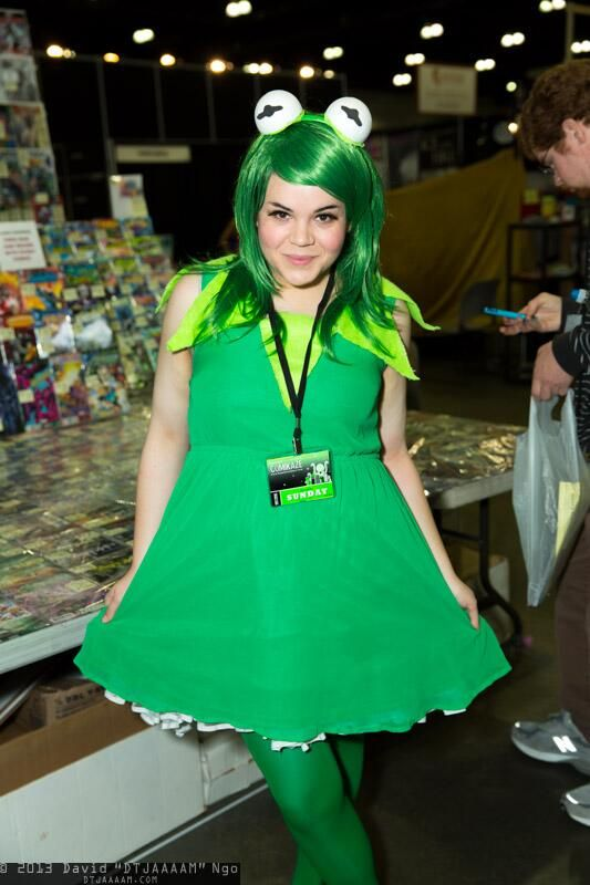 It ain't easy being green | Comikazi 2013