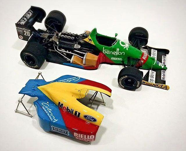 Benetton b188 1/20 scale