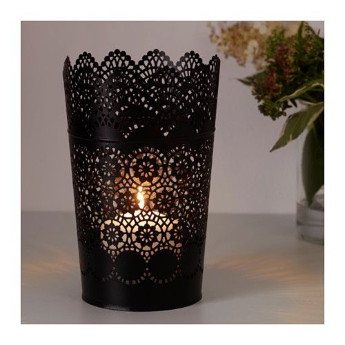 SKURAR Lantern for block candle  - IKEA