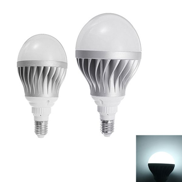 E27 15w 24w Smd5730 Pure White Silver Shell Aluminum Led Global Light Bulb Ac85 265v Led Light Bulbs From Lights Lighting On Banggood Com Light Bulb Led Light Bulbs Led Lights