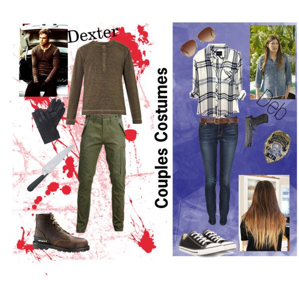 """Dex & Deb Morgan - Couples Costume"" by maurica-lacey on Polyvore"