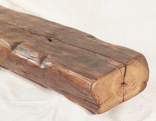 Fireplace Mantel Mantle Shelf Rustic Primitive Reclaimed Chestnut Beam C