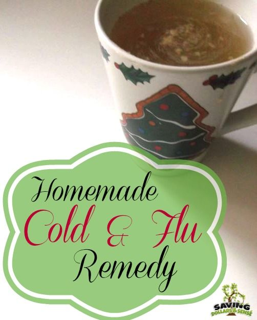cold-flu home remedy