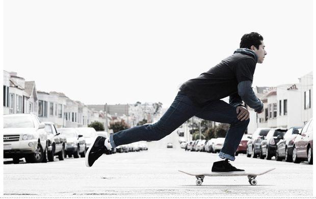 The 511 skateboarding team edition - совместная коллекция от Nike и Levi's