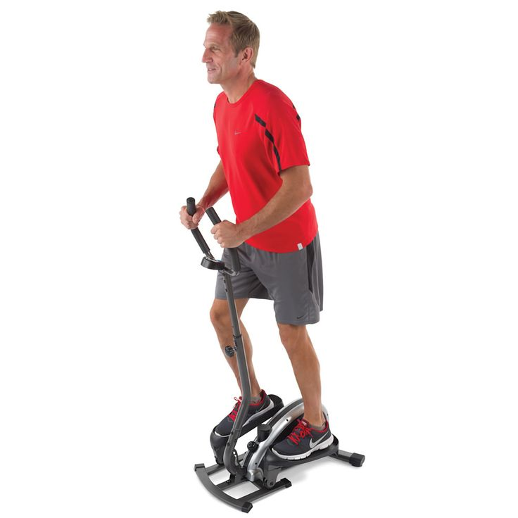 The Compact Elliptical Trainer Hammacher Schlemmer New