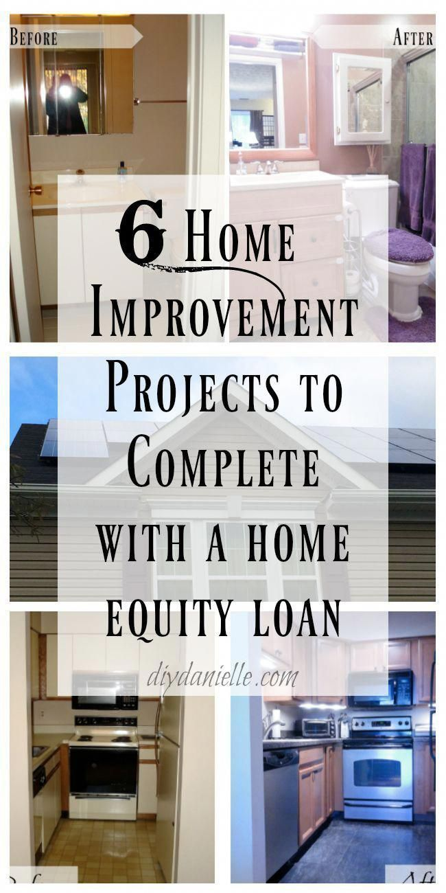Myhomeequity Ad 6 Home Improvement 6 Home Improvement Projects To Complete With A Home Home Improvement Loans Home Improvement Projects Home Equity Loan