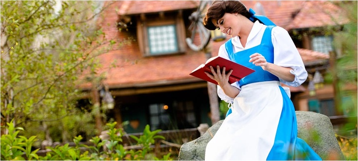 """Enchanted Tales with Belle is a captivating storybook adventure into the world of the popular Disney film """"Beauty and the Beast."""""""