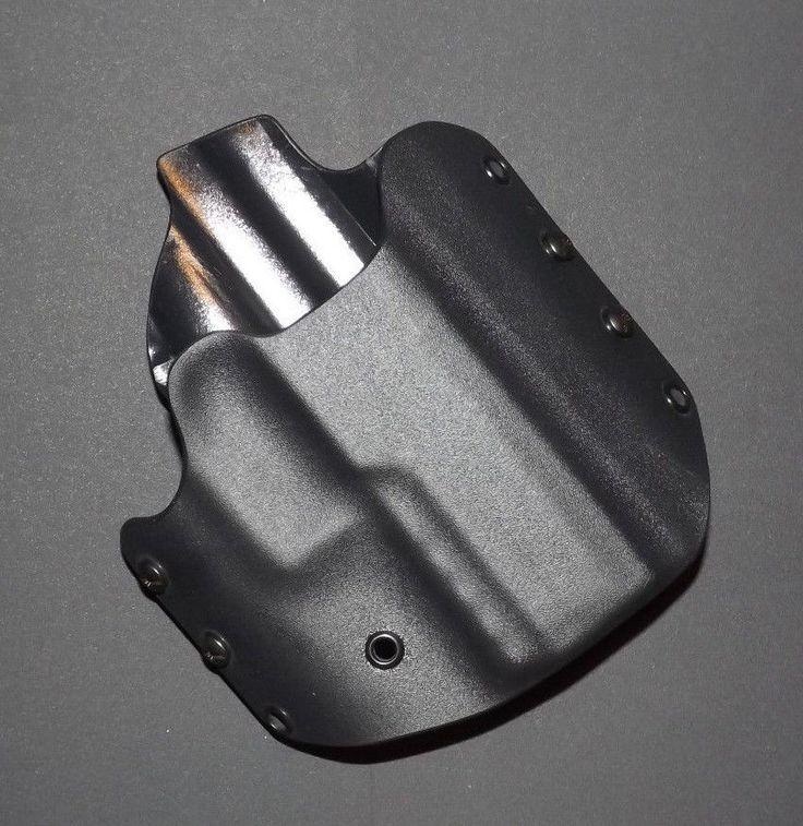 Sig P320 Compact Medium Black Kydex Holster (OWB) Right Handed RC Custom #RCcustomkydex #BeltOWB