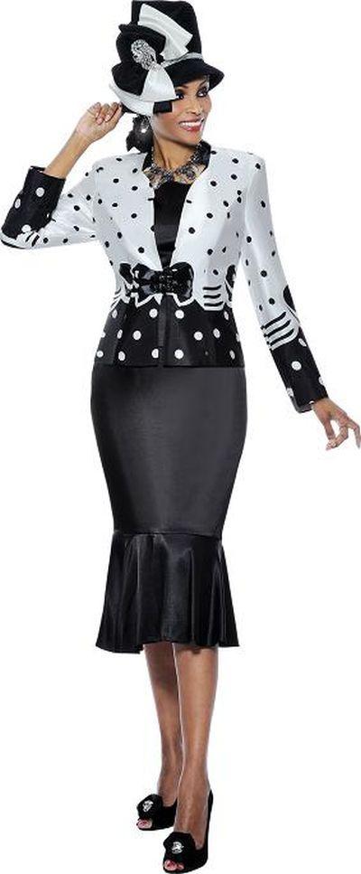 ladies church suits | Terramina 7217 3pc Womens Church Suit image