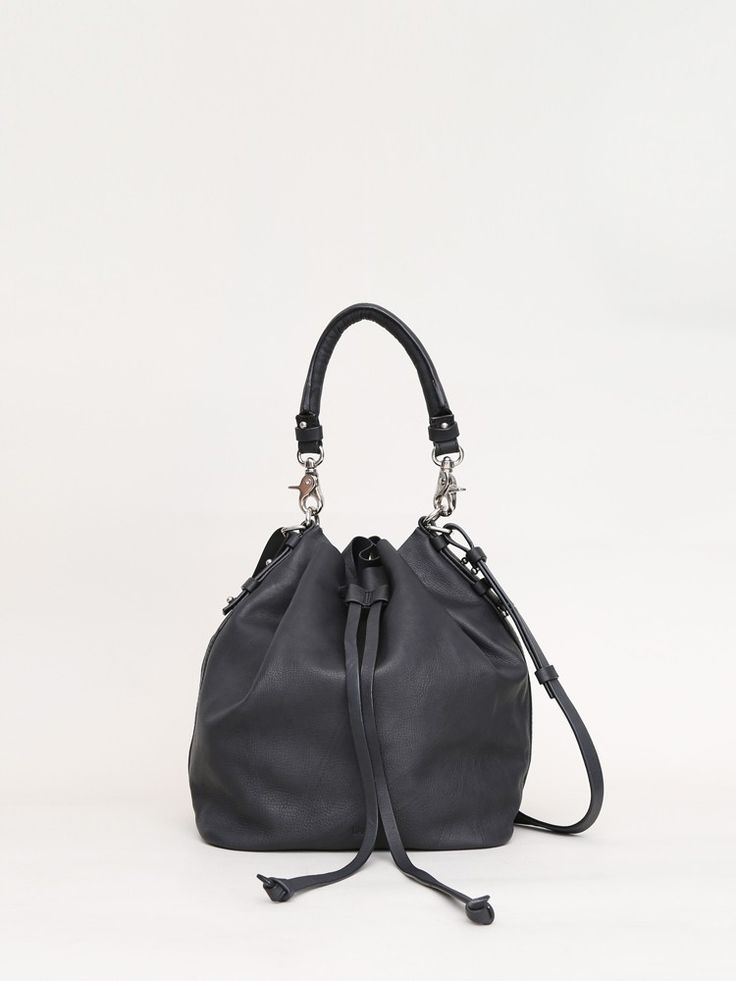 The Boerum Bucket Bag by OAK was made in India from smooth cow leather.