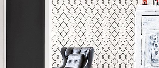 2015 Wallpaper Trends: Geometric Trellis Wallpaper to Help You Design a Classy Home -