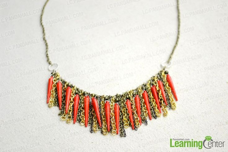 Chic Homemade Necklace – Make Your Own Chain Necklace with 3 Easy Steps - Pandahall.com
