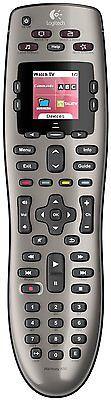 Logitech Harmony 650 Advanced Universal TV Remote Control - Silver 915-000159