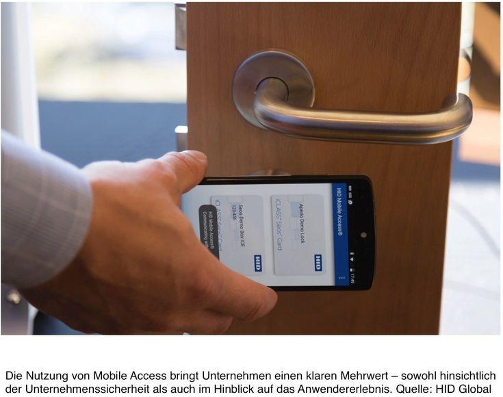 Zutrittskontrolle per Smartphone einrichten