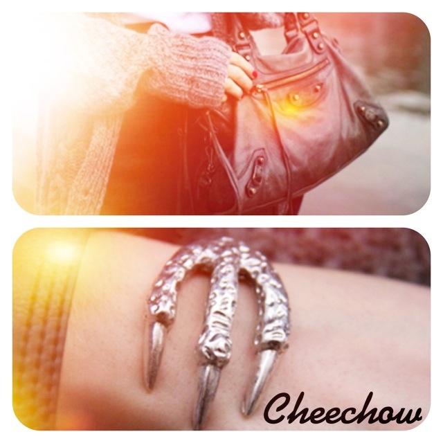 Balenciaga bag,bracelet
