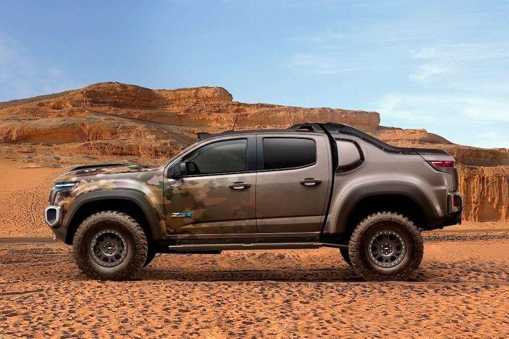 A Chevrolet Colorado, versão modificada da S10 vendida dos EUA, vira conceito militar movido a célul... - Redação / Fotos: Divulgação
