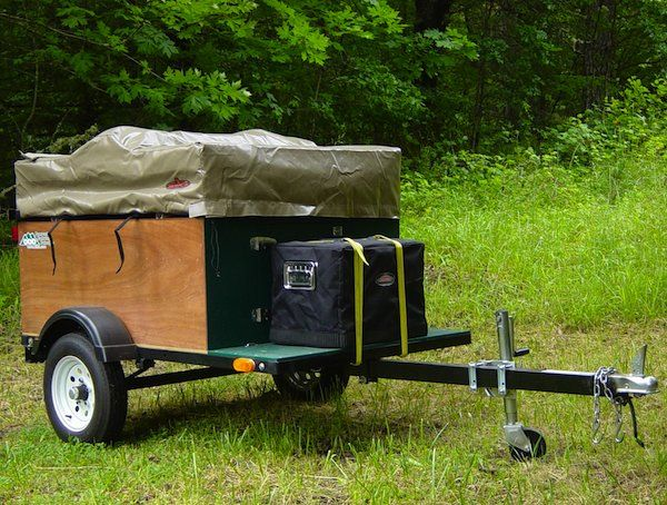 Diy Tent Campers You Can Build On A Tiny Trailer Camping