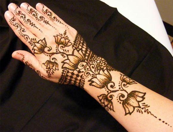 13 Simple & Easy Arabic Mehndi, Arabic Henna Designs, Patterns