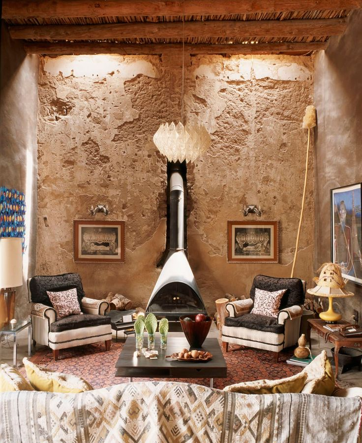Oltre 25 fantastiche idee su interni rustici su pinterest for Case in stile adobe