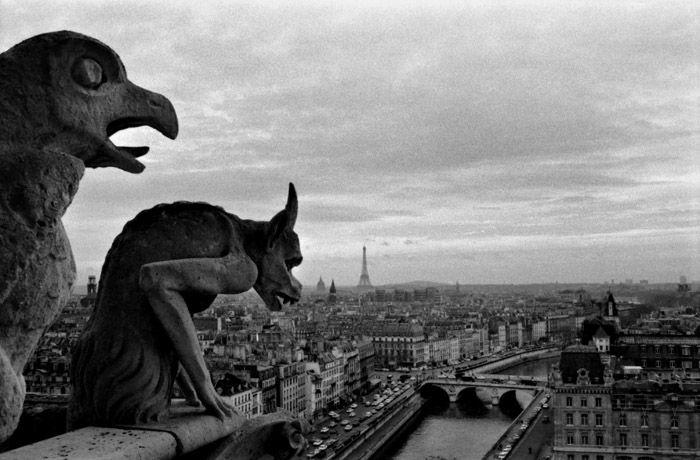 Robert Doisneau Photography Children gargouille de notre da...