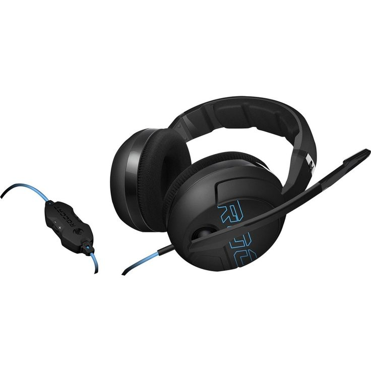 Roccat Kave XTD Headset - Stereo - Mini-phone - Wired - 32 Ohm - 20 Hz - 20 kHz - Over-the-head - Binaural - Circumaural - 8.20 ft Cable - Noise Cancelling, Omni-directional Microphone
