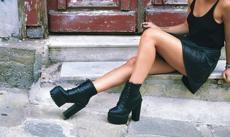 outdoors fashion photography for shoes