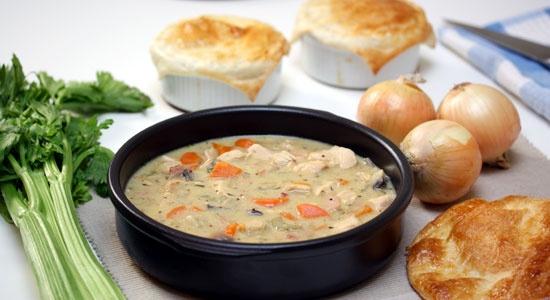 Dijon Chicken Pie - weightloss.com.au