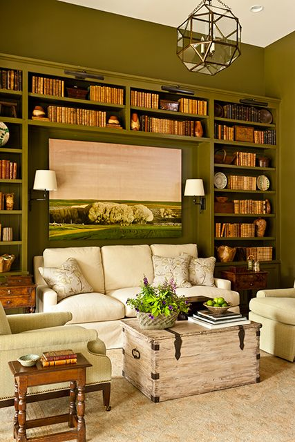 Details ARE the difference, the sitting room/study...2013 Idea House at Fontanel.  Plan #1855