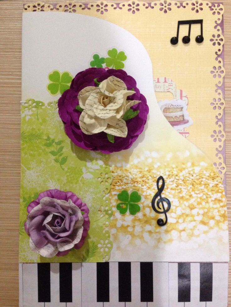 15 best Handmade Card images – Birthday Cards Play Music