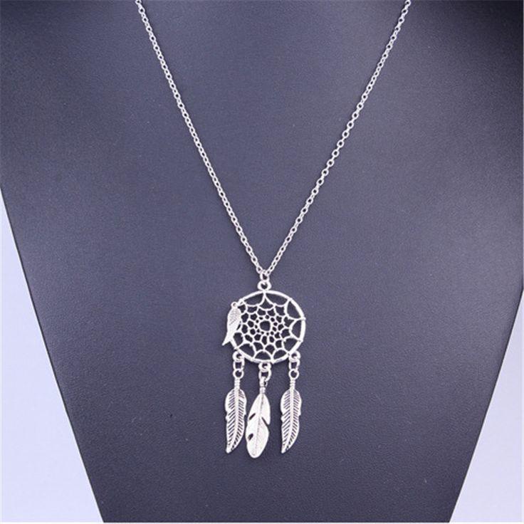 Vintage Dream Catcher Necklaces